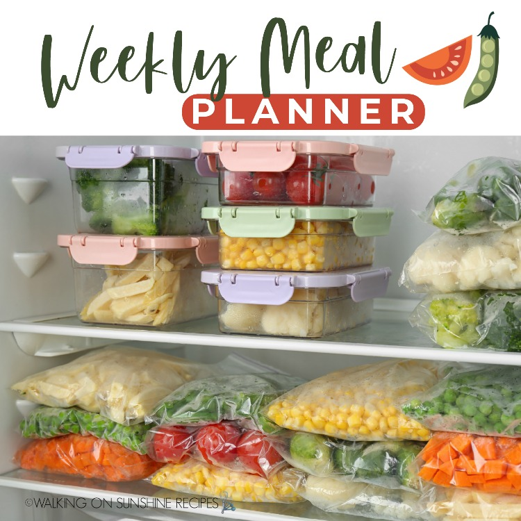 Meal Plan 6 Weight Watchers Recipes