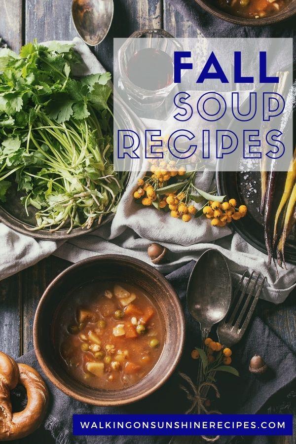Bowl of lentil soup in wooden bowl.