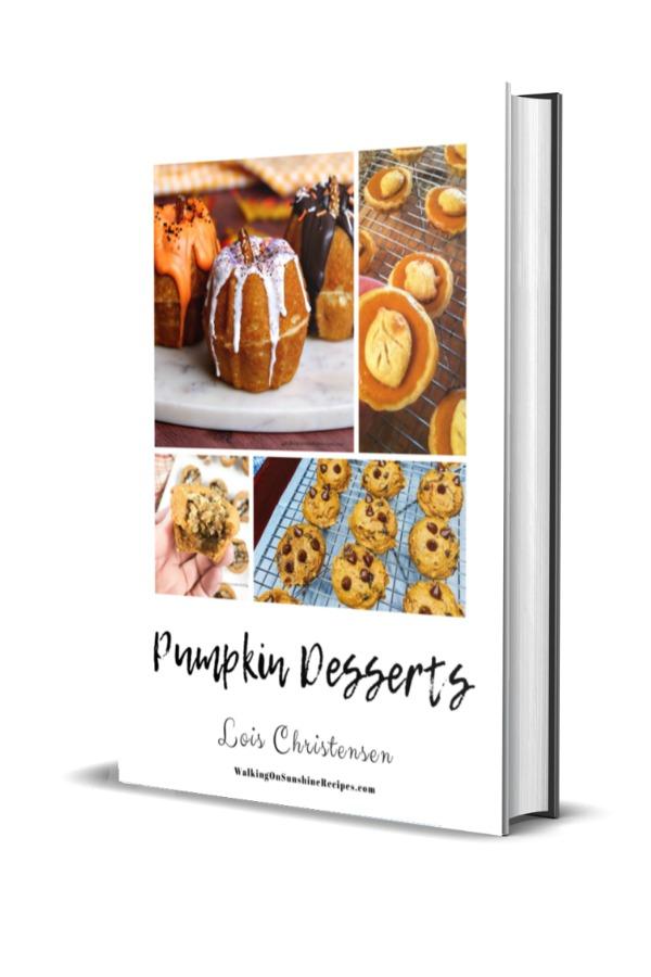 Pumpkin Dessert Recipes E-Book
