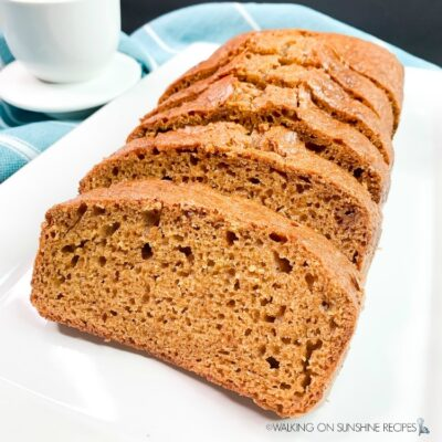Easy Homemade Pumpkin Bread