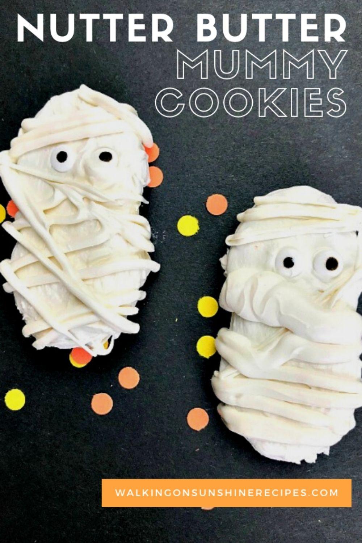 Nutter Butter Mummy Cookies.