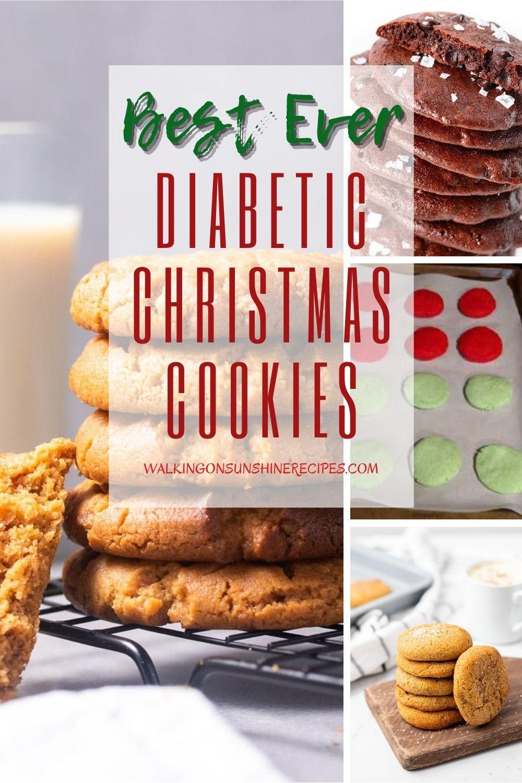 Diabetic friendly Christmas Cookies.
