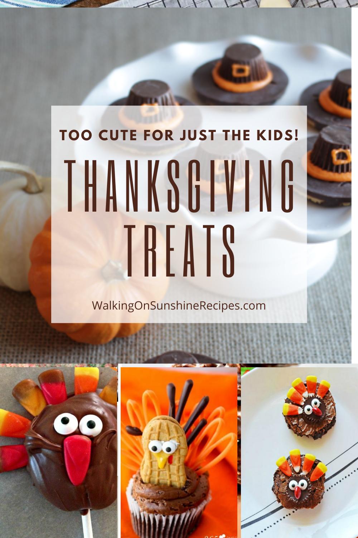Thanksgiving Desserts the kids will love.