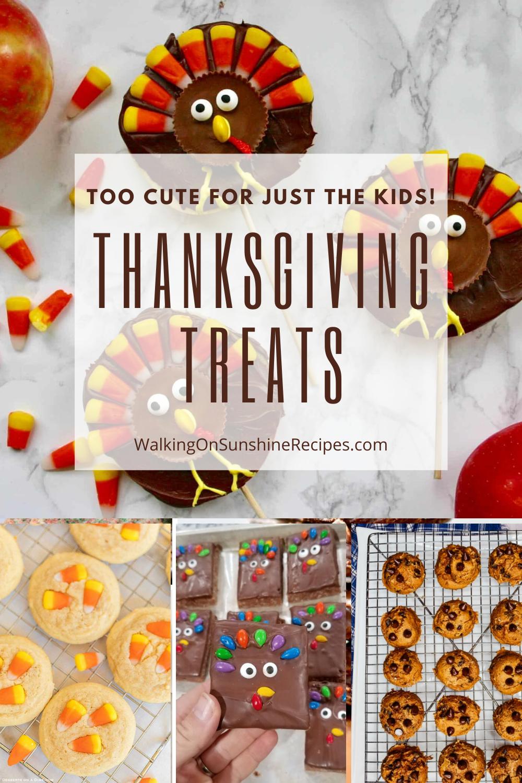 Thanksgiving desserts for kids.