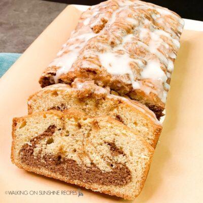 Easy Cinnamon Roll Bread
