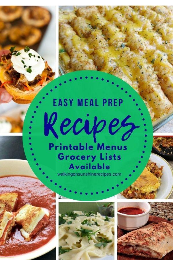 7 easy meal prep recipes