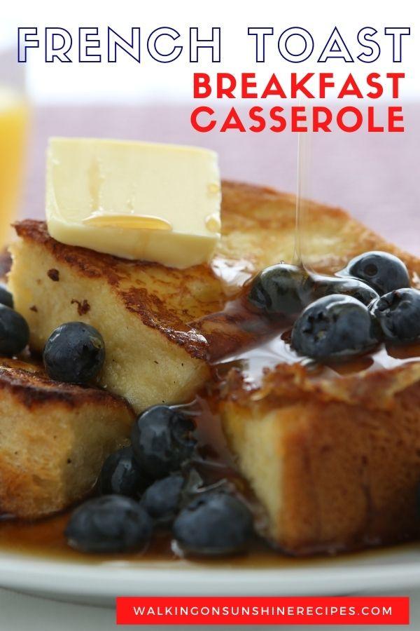 Texas toast French toast bake