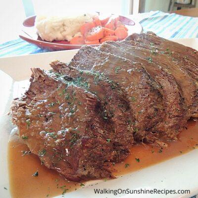 Sunday Dinner Pot Roast