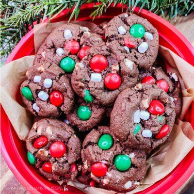Marshmallow Christmas Cookies