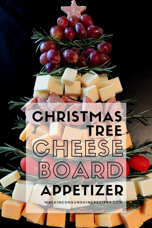 Christmas tree charcuterie board
