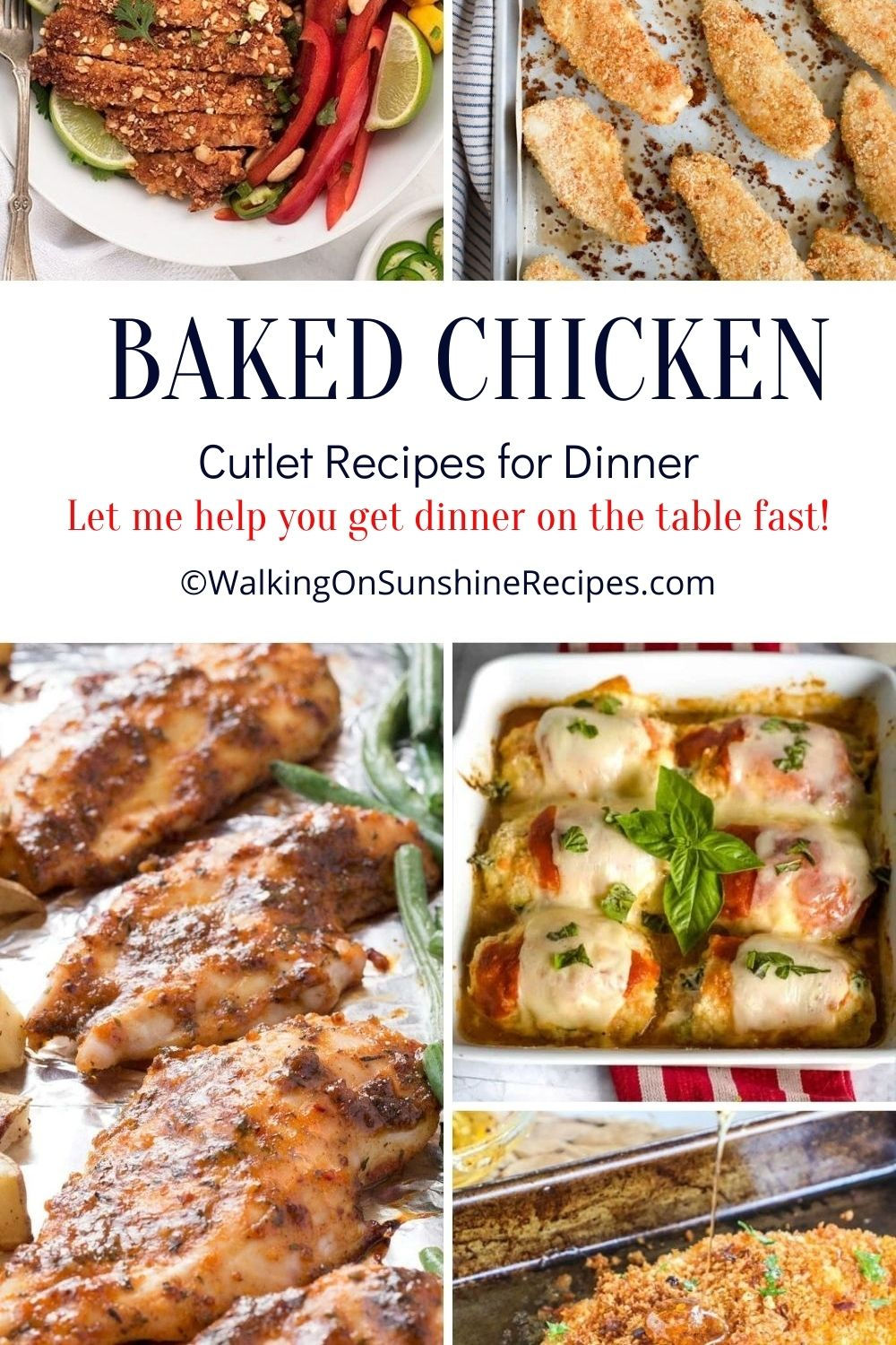 chicken recipes for dinner.