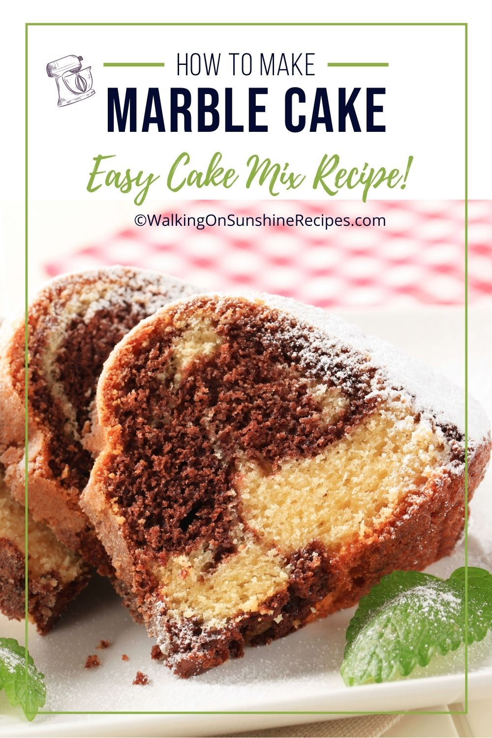 how to make marble cake with yellow cake mix