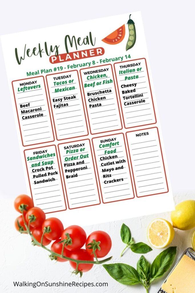 easy day menu