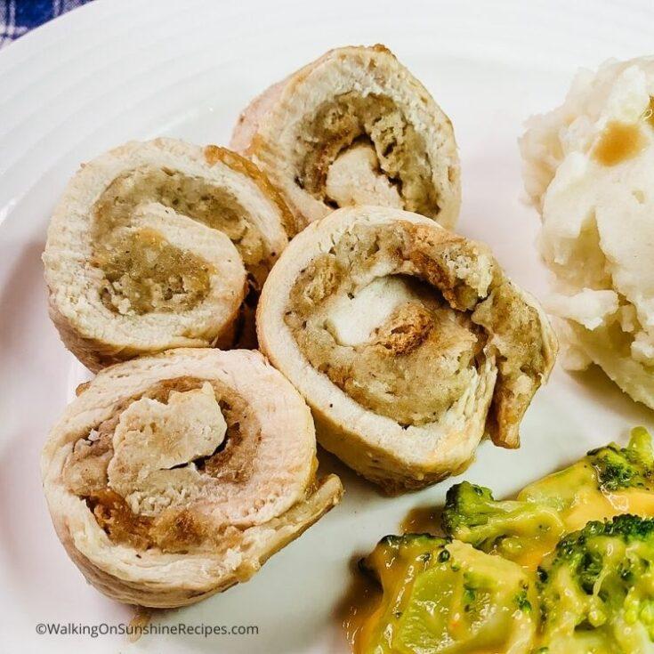 Stuffed Chicken Cutlets Recipe
