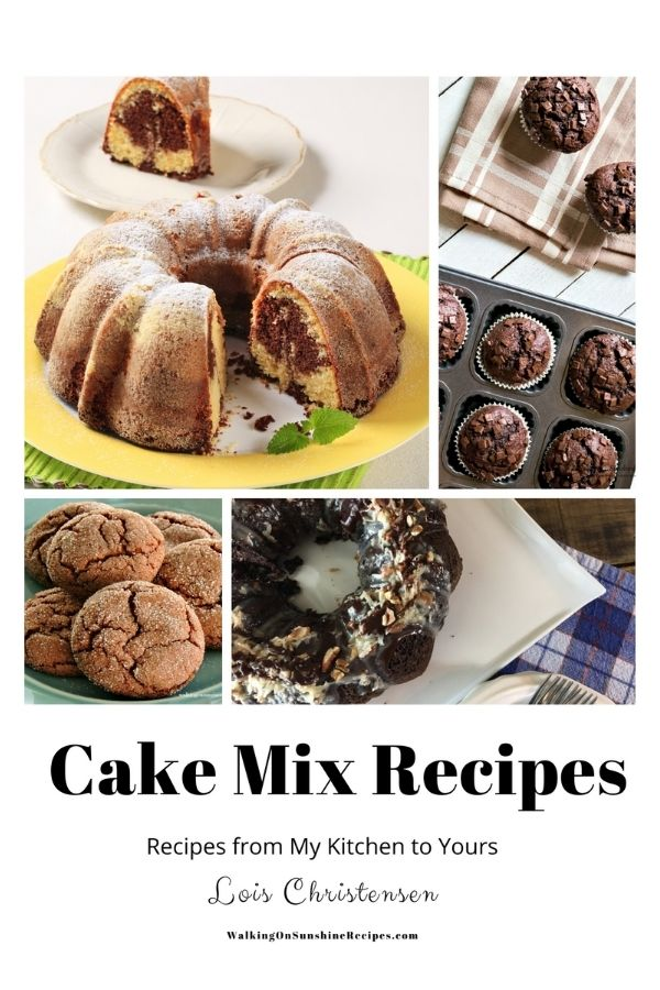 Easy Cake Mix Recipes
