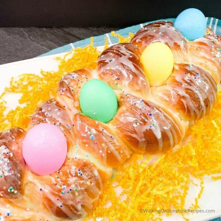 Bread Machine Easter Bread Recipe
