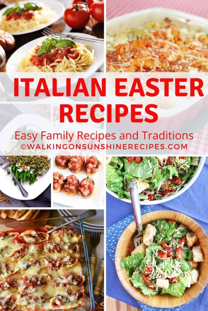 Collection of Italian Easter Recipes.
