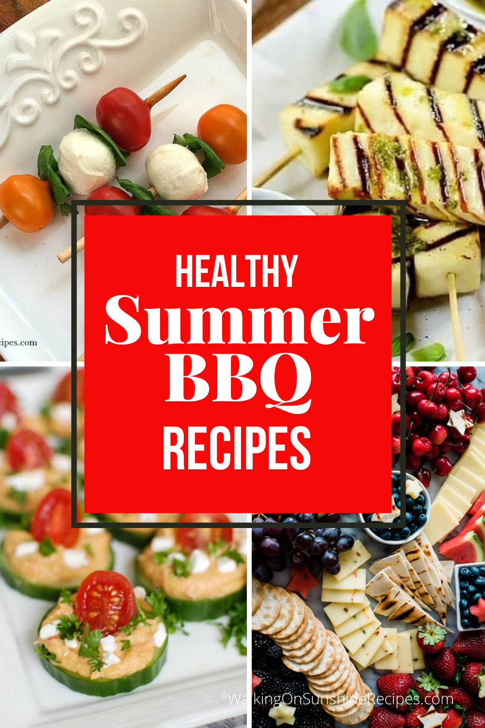 healthy summer appetizers for parties.