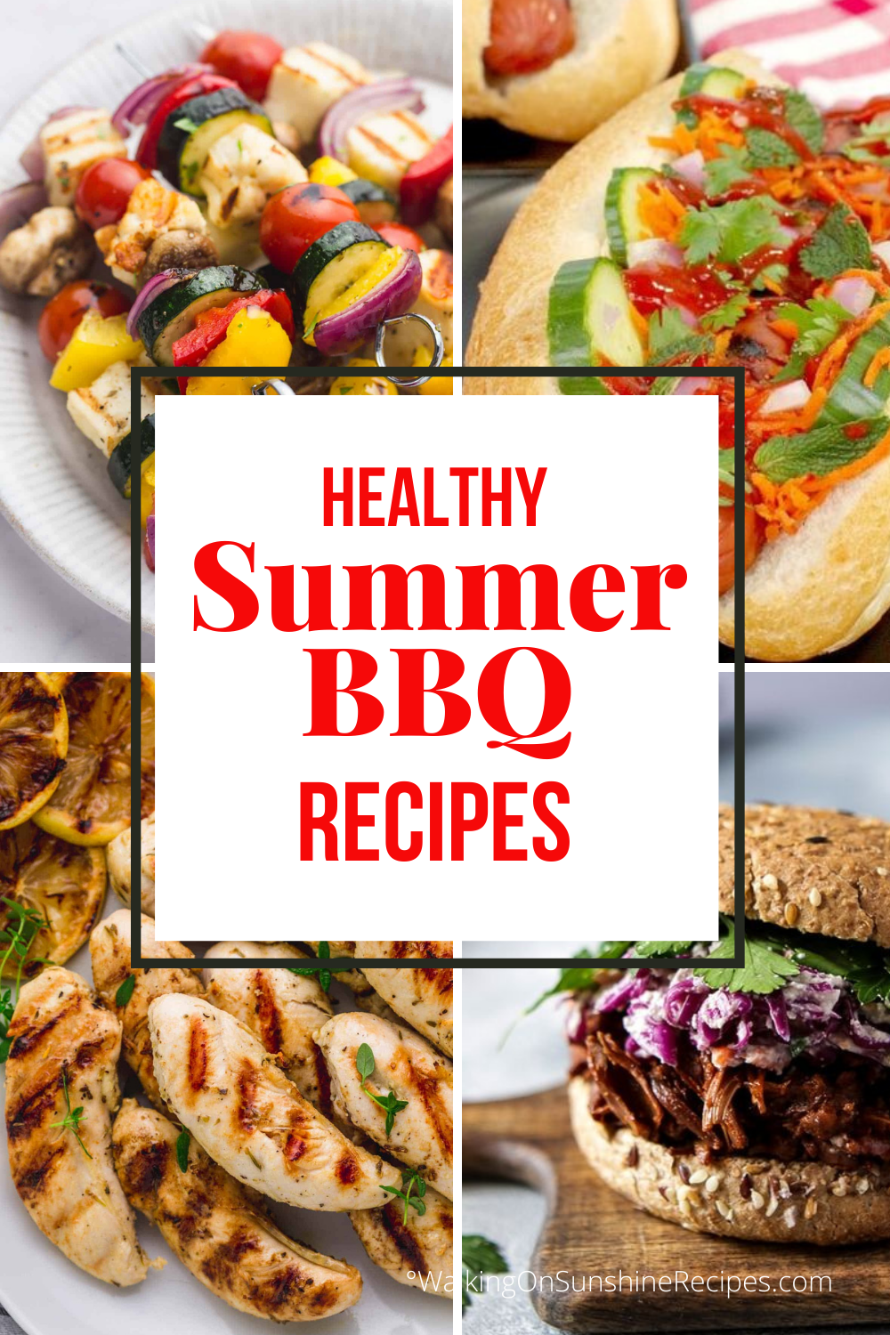 healthy recipes for summer bbqs.