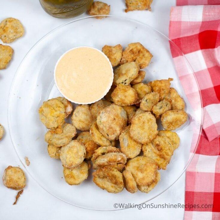 Air Fryer Crispy Pickles