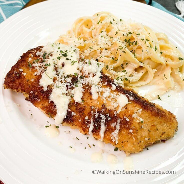 Chicken Cutlets Parmesan Recipe