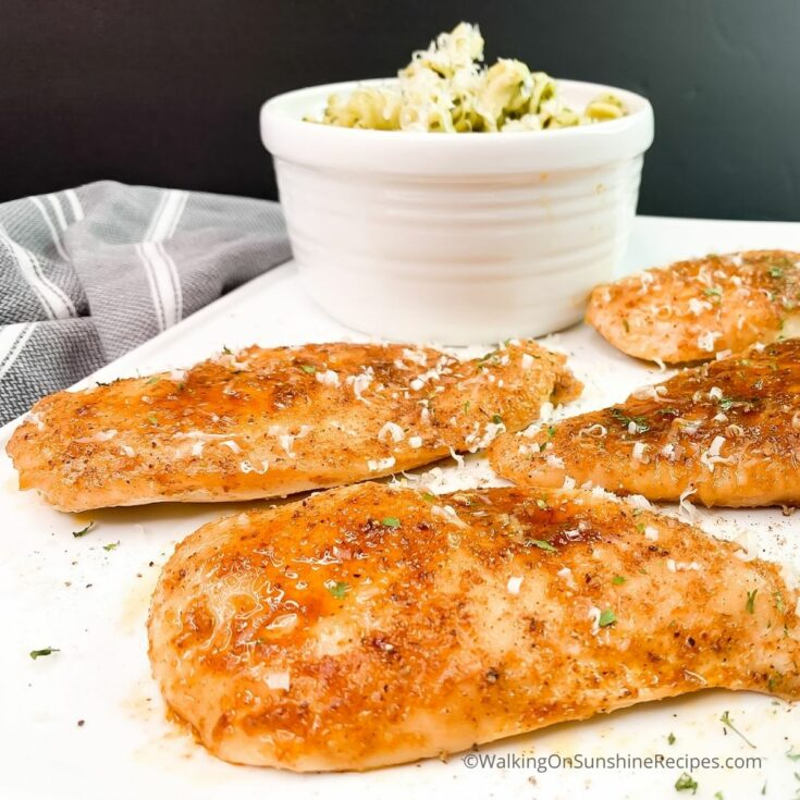 Moist Chicken Cutlets in the Oven