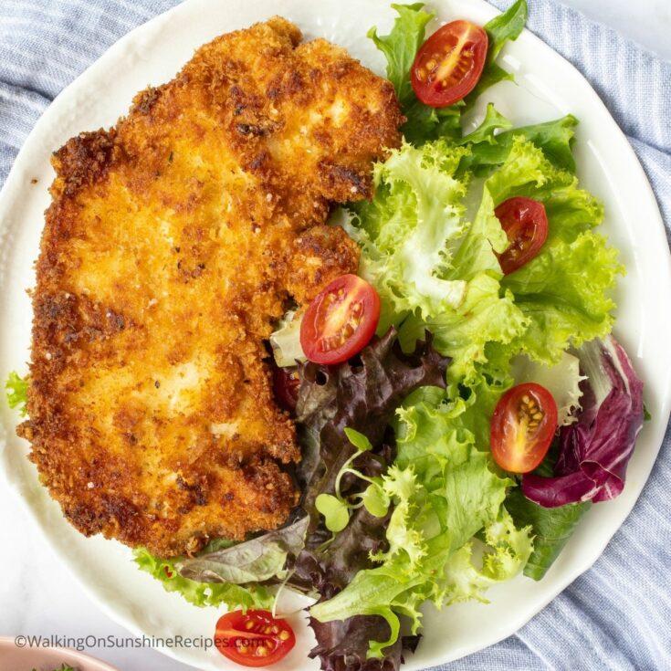 Italian Fried Chicken Cutlets