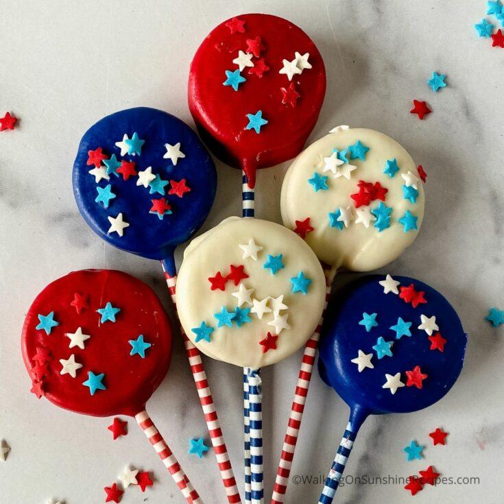 _FEATURED NEW SIZE Oreo Cookie Patriotic Treats photo
