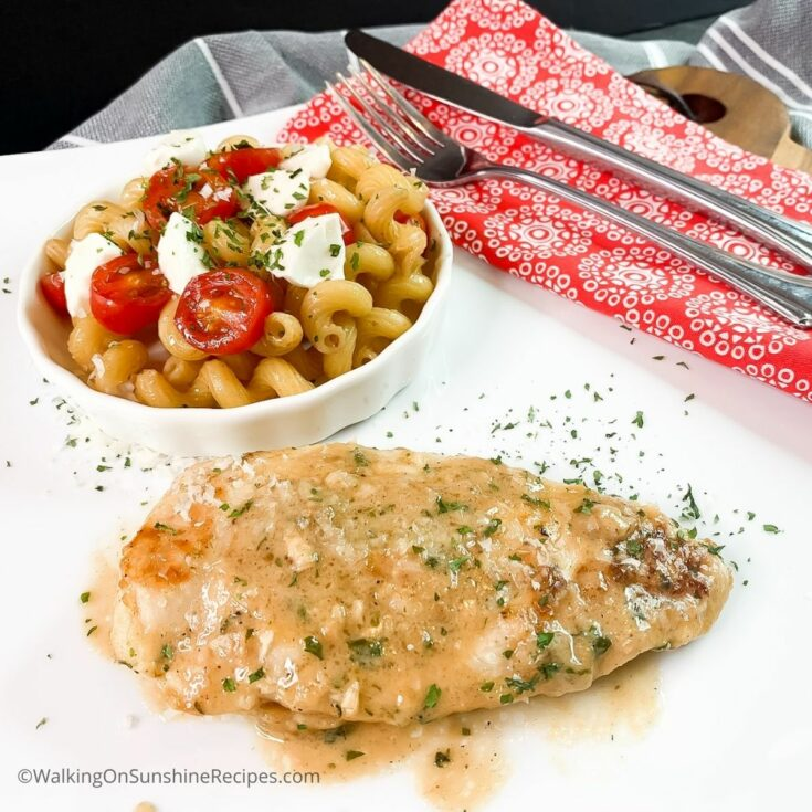 Sauteed Chicken Cutlets