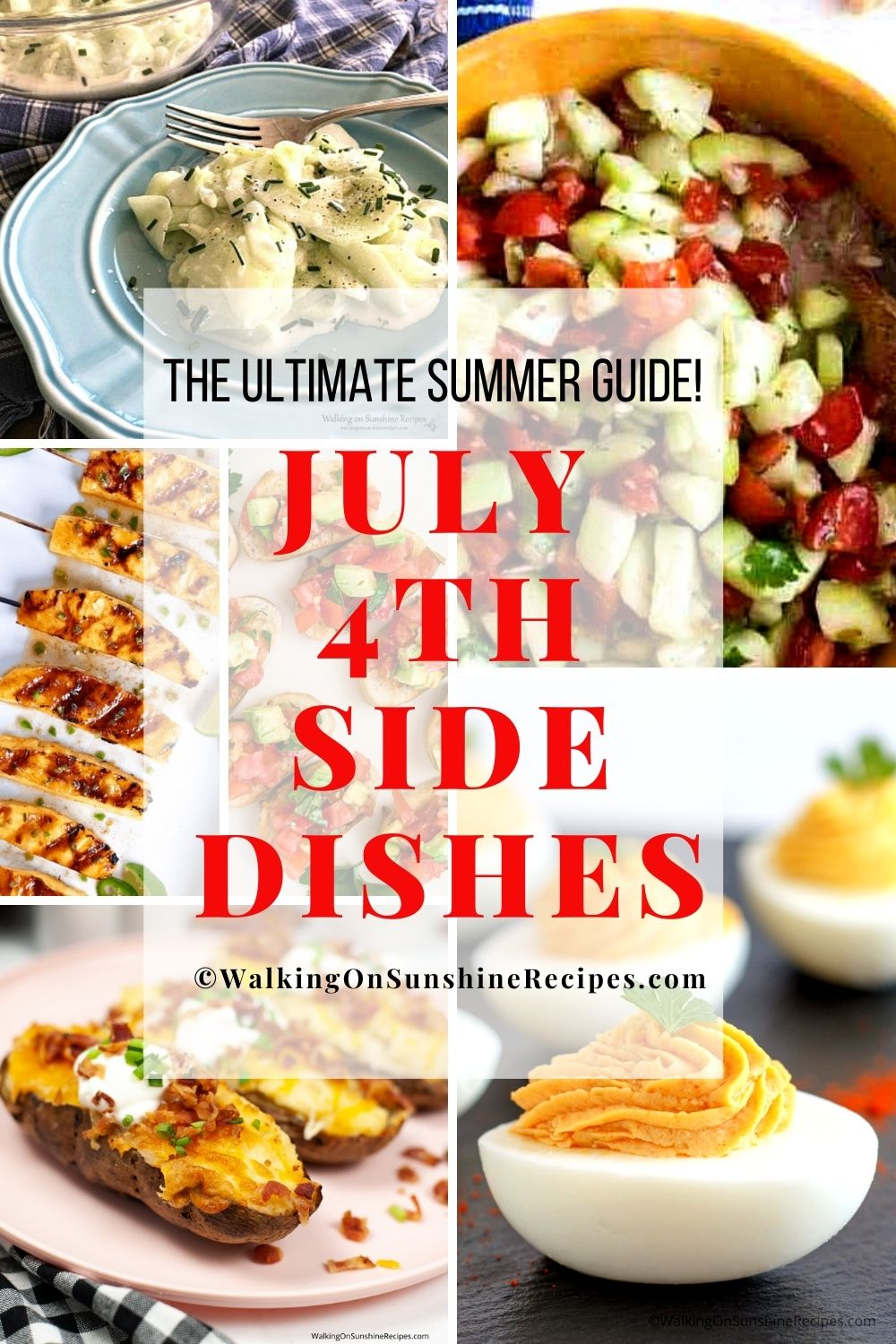 july 4th bbq menu of side dishes.