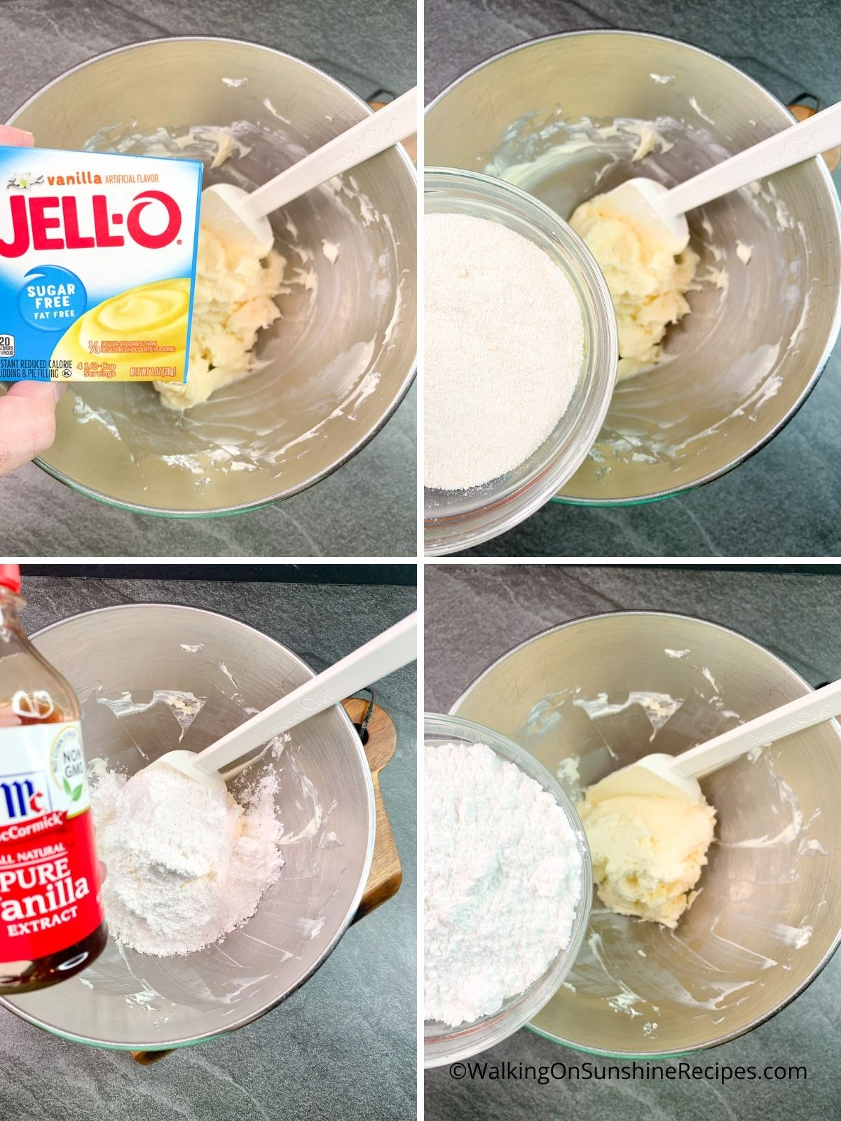 How to make pudding with cream cheese.