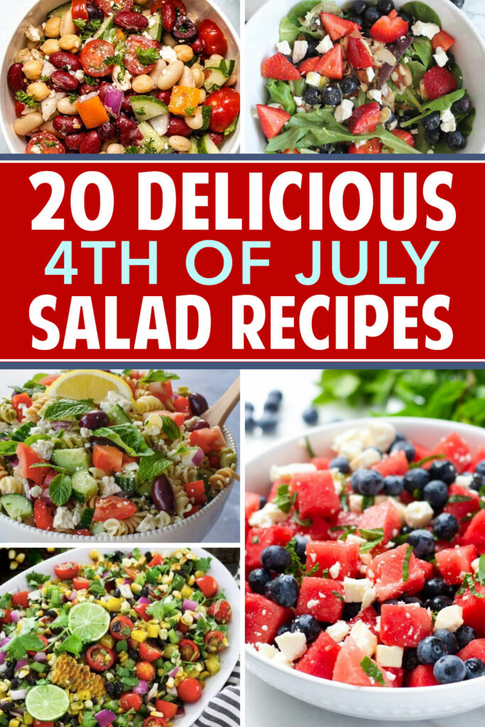 Salad recipes perfect for barbecues.