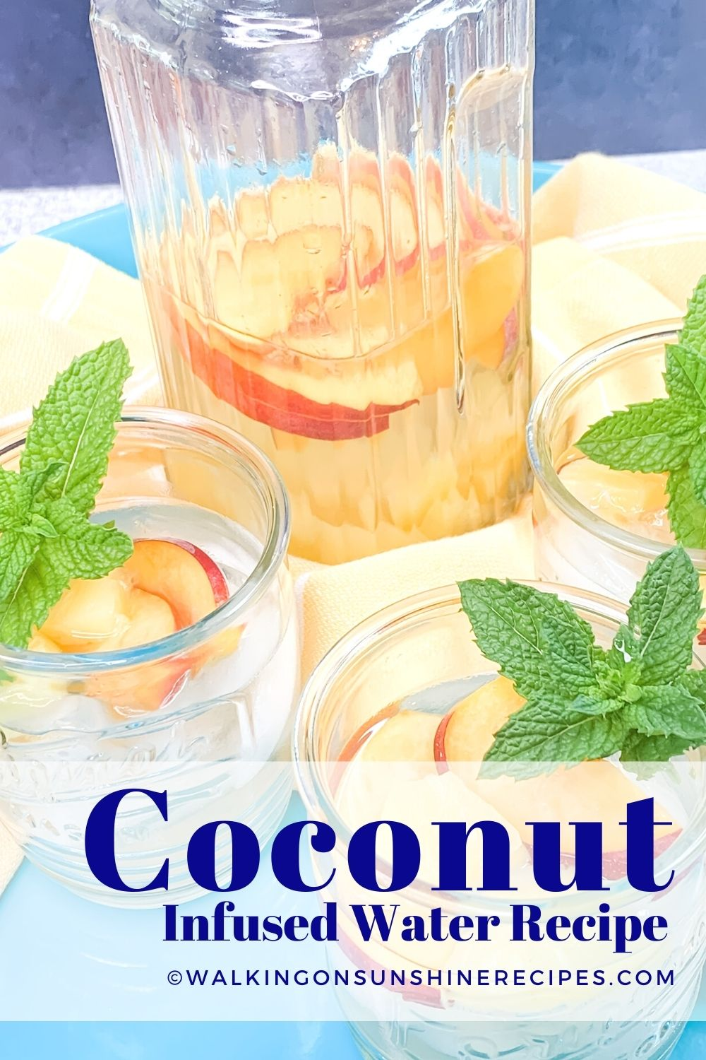 Coconut Infused Water Pin.