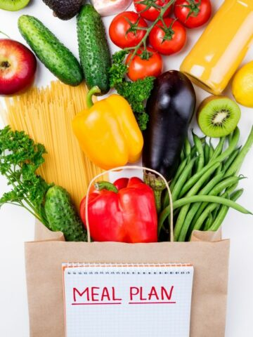 Meal Planning and Grocery Shopping Lists Printables.