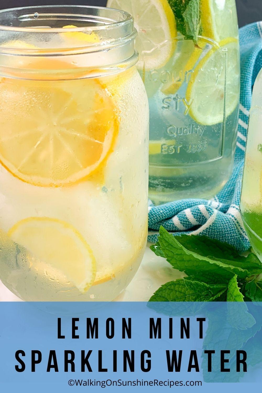 Lemon water recipe.