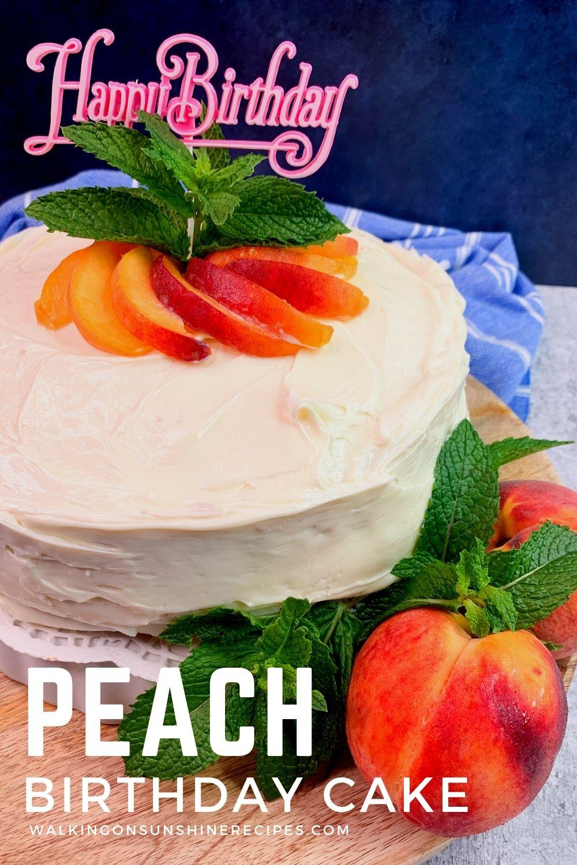 peach cake recipe.