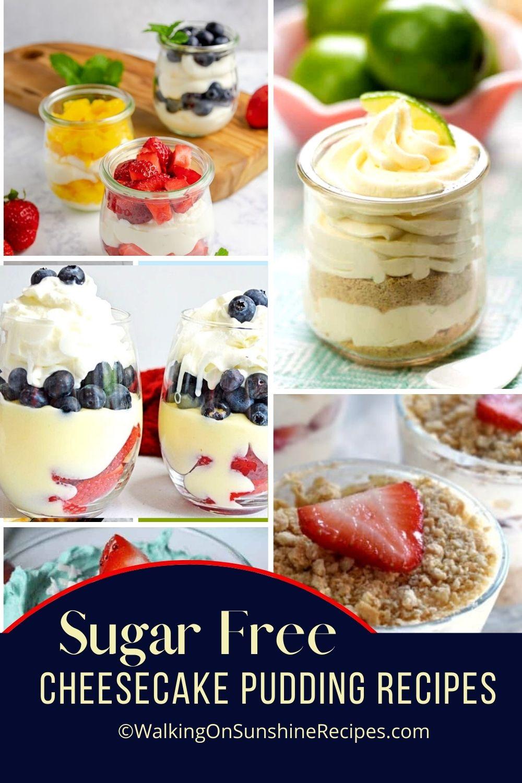 Sugar Free Cheesecake Pudding Recipes Pin