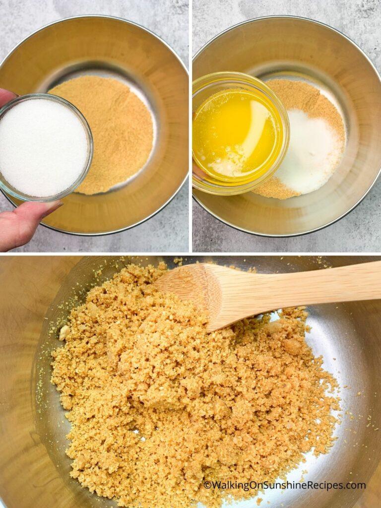 Graham Cracker Crumbs Process Photos