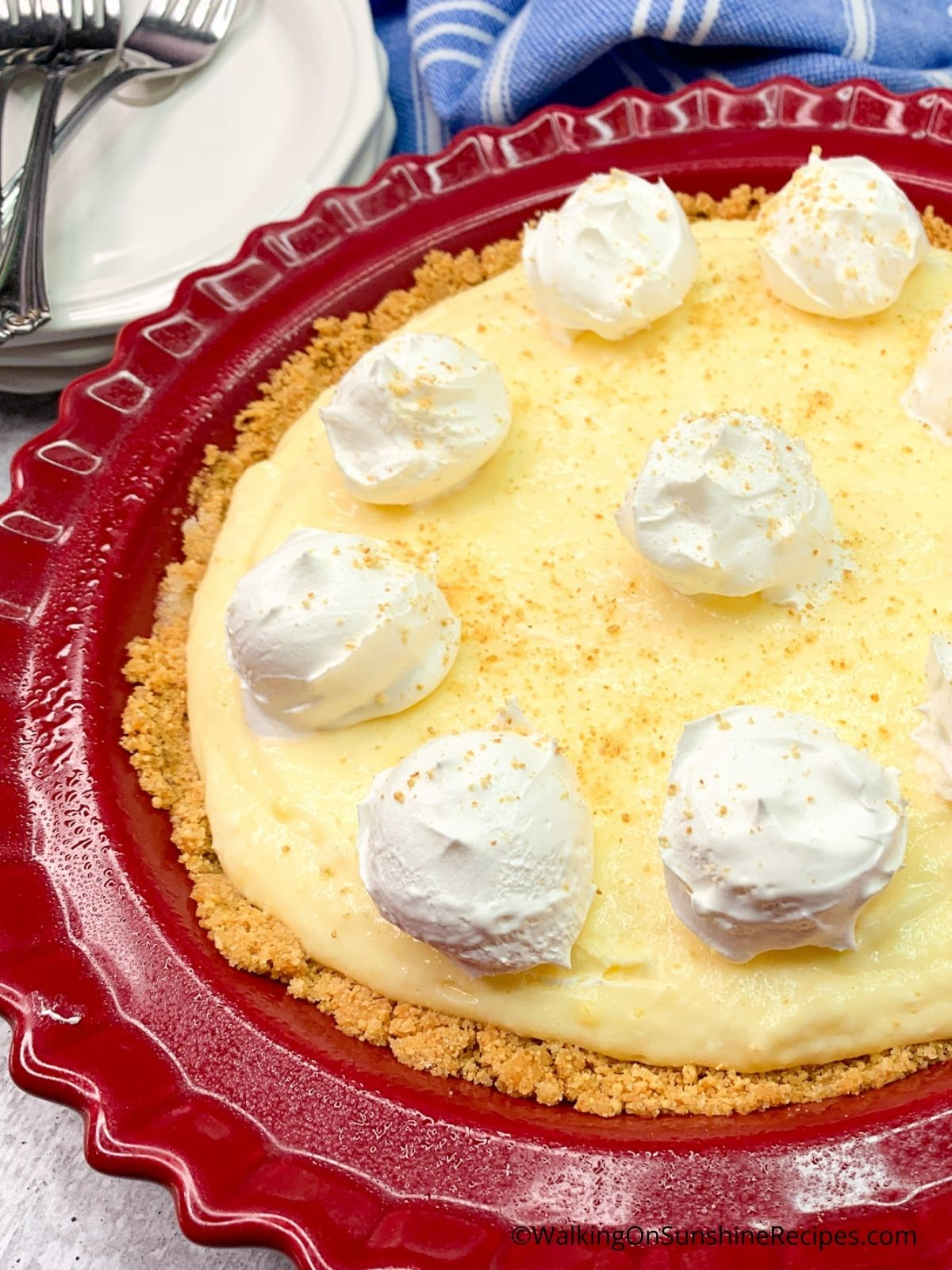 Add whipped cream or Cool Whipped topping.