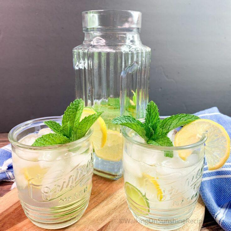 Lemon Lime Sparkling Water