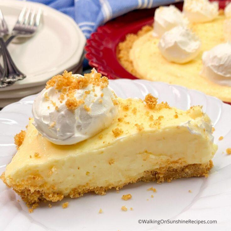 Vanilla Pudding Cheesecake