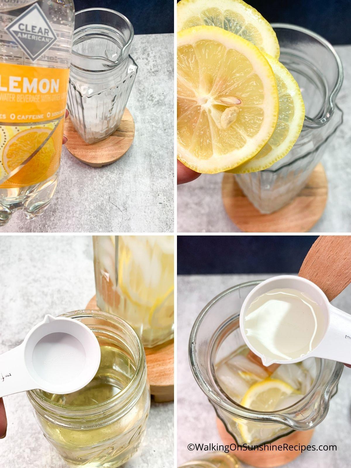 Lemon Water.