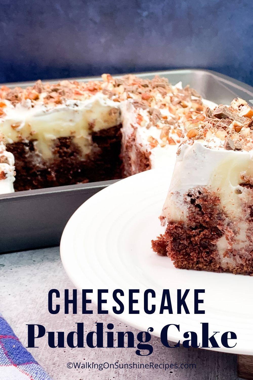Cheesecake Pudding Cake Pin