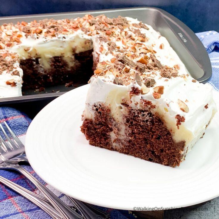 Cheesecake Pudding Cake