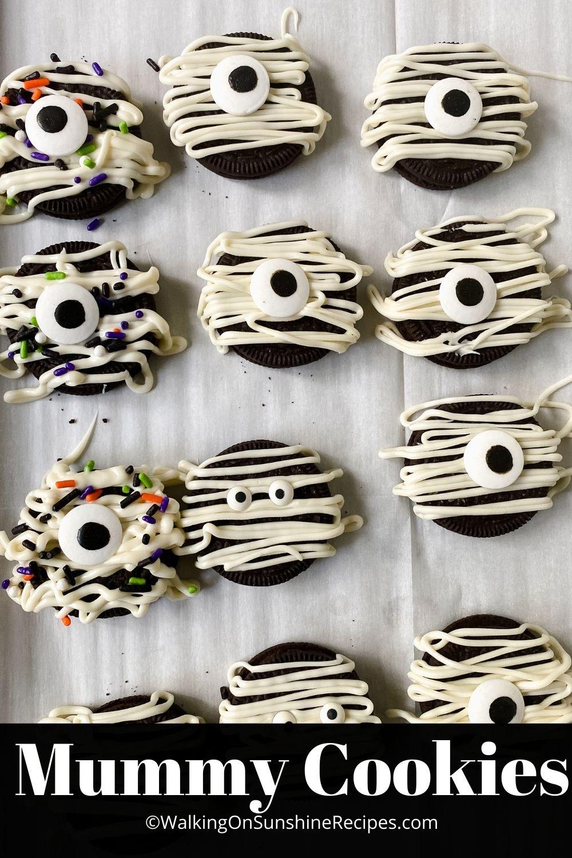 Mummy Cookies Recipes.