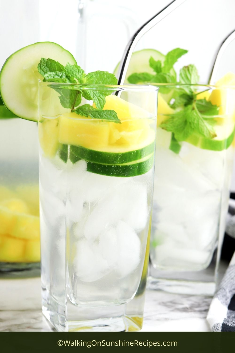 Pineapple Infused Water Pin 1