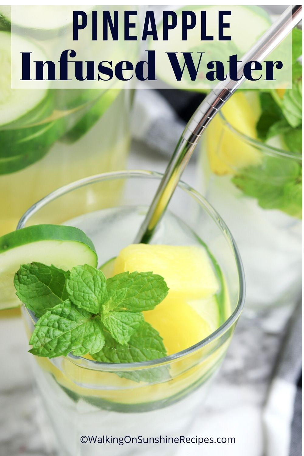 Pineapple Infused Water Pin 4