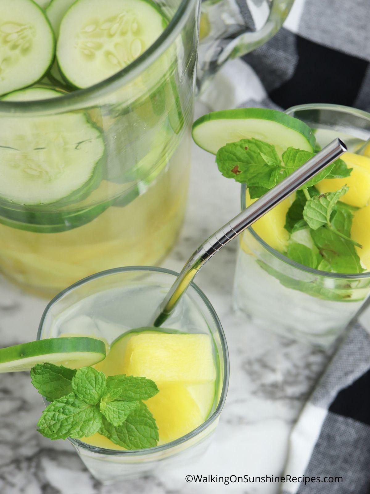 Stir ingredients together and serve.